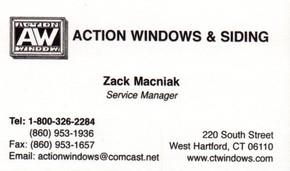 Click to see Action Windows & Siding Details